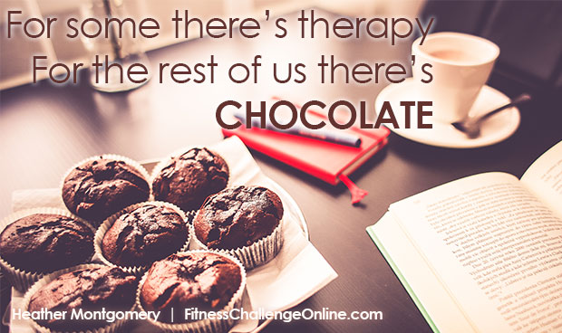 For some there's therapy, for the rest of us there's chocolate - image quote
