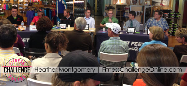 Fitness Challenge Online - Fleet Feet Panel Discussion Running Shoe Heel Drop